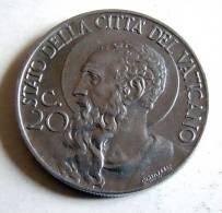 Vatican PAPAL PIUS XII  20 CENTESIMI RARE 1940   RARE QFDC EF\AU - Vatican