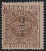 India  Portuguesa - 1881 - Nuevo - India Portuguesa