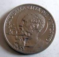 Vatican PAPAL PIUS X  20 CENTESIMI RARE 1930   RARE QFDC FDC AU UNC - Vatican