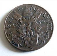 Vatican PAPAL PIUS X  5 CENTESIMI RARE 19340   RARE EF SPL - Vatican