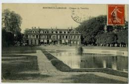 Montreuil-L´Argille - Château Du Tremblay - Circulée 1907 - Altri Comuni