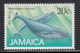 Jamaica MNH Scott #683 20c Blue Whale (Balaenoptera Musculus) -  Marine Mammals - Jamaique (1962-...)