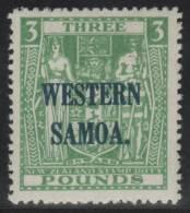 SAMOA 1945/50 - Yvert #143G - ** MNH - Samoa Americana