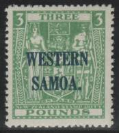 SAMOA 1945/50 - Yvert #143G - MNH ** - Samoa Americano