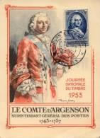 N° 940 Sur Carte Maxi Oblitération 1er Jour ( Bourges ) - Cartes-Maximum