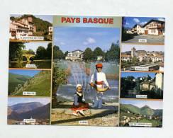 Carte Pays Basque    Flamme Muette Ascain - France