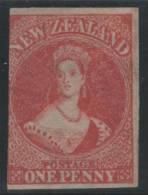 NUEVA ZELANDA 1863 - Yvert #17 - MLH * (Rare!) - 1855-1907 Colonia Británica