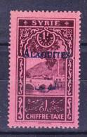 ALAOUITES Taxe  N°7  Neuf Charniere - Unused Stamps