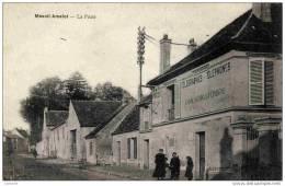 77 -Mesnil-Amelot-La Poste.(Gros Plan) Animée - France