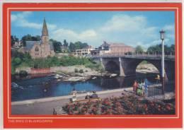 The Brig O' BLAIRGOWRIE - Panorama,  Bridge, PONT , Brücke - Perthshire