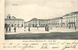 Mars13 414 : Cuneo  -  Piazza Vittorio Emanuele II  -  Lato Est - Cuneo