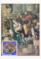 Carte-Maximum GRENADA N°Yvert 274 / VERONESE / Adoration Des Mages - Grenada (...-1974)