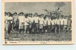 MISSIONS DE SCHEUT  -Eleves D´une école De Fille Du Pays Des Igorottes. - Philippines