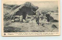 MISSIONS DE SCHEUT  - Un Type D'igorotte. - Philippines