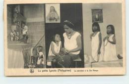 MISSIONS DE SCHEUT  - La Petite Igorotte, Dévotion A La Sainte Vierge. - Philippines