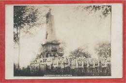 67 - MORSBRONN - Carte Photo - Soldats Français Devant Un Monument De La Guerre De 1870 - Francia