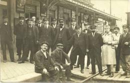 ERMONT      Sur Le Quai   Animee  5 Octobre  1922  Circulee - Ermont