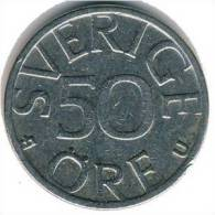 Sweden - 50  Öre - 1980 - KM 855 - Vz - Suecia