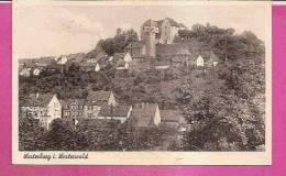 WESTERBURG   -     ** TEILANSICHT MIT BURG **   -   Verlag : P. KAESBERGER  Aus Westerburg   N°E/1061 - Westerburg
