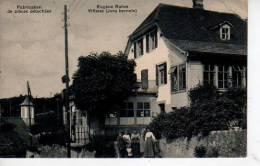VILLERET Fabrication De Pièces Détachées Eugène Rahm  (scans Recto-verso) - JU Jura