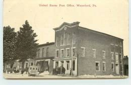 WATERFORD  - United States Post Office. - Waterford