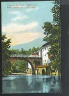 SKOFJA LOKA-BISHOFLACK  ( Slovenia ) Franc Josipov Most -franz Josef Brucke  Cartolina Non Viaggiata Primi 900 - Slovenia