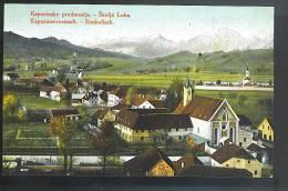 SKOFJA LOKA-BISHOFLACK  ( Slovenia ) Kapucinsko Predmestje-kapuzinervorstadt  Cartolina Non Viaggiata Primi 900 - Slovenia