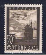 A+ Österreich 1947 Mi 822 Mnh Gebäude - 1945-.... 2a Repubblica
