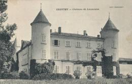 L L 291/ C P A   - CROTTET  (01) CHATEAU DE LAUMUSSE - France