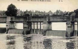 CPA 35 RENNES DEVERSOIR DU MOULIN DU COMTE AG 159 - Rennes