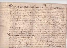 Parchemin, 1604, Pont-Authou, Pont-Audemer, Cormeilles, Chapelle-Bayvel, Partage En 3 Lots ( Free Shipping ) - Manuscritos