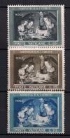 VATICANO 1960, YVERT 310/312**, NAVIDAD - Vaticano (Ciudad Del)