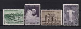 VATICANO 1964, YVERT 418/421 **, VIAJE DEL PAPA PABLO VI A LA INDIA - Vaticano (Ciudad Del)