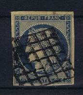 France:  1849  Yv. 4 B   Used / Obl. - 1849-1850 Ceres