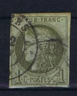 France:  1870  Yv. 39   Used / Obl - 1870 Uitgave Van Bordeaux