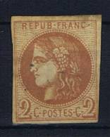 France:  1870  Yv. 40B   Used / Obl - 1870 Ausgabe Bordeaux