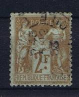 France 1898 Yv 105 Used/Obl - 1898-1900 Sage (Type III)
