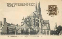 41 VENDOME  L'eglise De La Trinité - Vendome