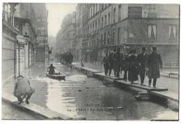 Crue De La Seine - Rue De Bellechasse - Inondations De 1910