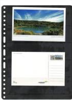 COSTA RICA,PREPAID POST CARD, VOLCANO,LAKE POTOS,POAS,MINT - Volcanos