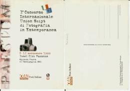 Spineta Nuova Di Battipaglia (Salerno): 1° Concorso Internaz. Fotografia Estemp. Cartolina CRAL Centrale Poste Italiane - Battipaglia