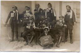 49 Moze Carte Photo Conscrits 1910 - Other Municipalities