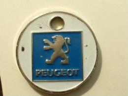 JETTON DE CADDIES - PEUGEOT CHAMPION BEAUNE - BOURGOGNE - Trolley Token/Shopping Trolley Chip
