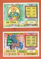 MALTA - 2  LOTTERY TICKETS FROM MALTA /  2001 / 2 - Lottery Tickets