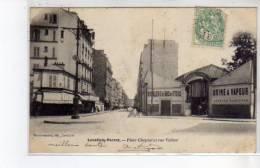 LEVALLOIS PERRET - Place Chaptal Et Rue Vallier - Très Bon état - Levallois Perret