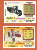 MALTA - 2  LOTTERY TICKETS FROM MALTA /  2002 / 3 - Lottery Tickets