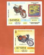 MALTA - 2  LOTTERY TICKETS FROM MALTA /  2001 - Lotterielose