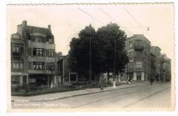 "Postkaart / Carte Postale ""Auderghem / Oudergem - Square Jean Degreef - Chaussée De Wavre"" - Auderghem - Oudergem"