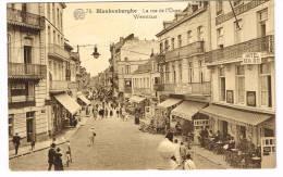 """Postkaart / Carte Postale """"Blankenberge / Blankenberghe - La Rue De L´Ouest / Weststraat"""" - Blankenberge"""
