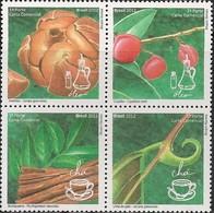 BRAZIL - BLOCK OF FOUR BRAZILIAN PHYTOTHERAPY 2012 - MNH - Pflanzen Und Botanik